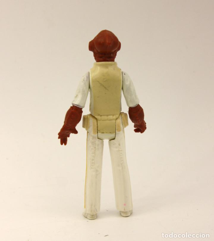 Figuras y Muñecos Star Wars: FIGURA ALMIRANTE ACKBAR - STAR WARS - MARCADA LFL 1982 TAIWAN - GUERRA DE LAS GALAXIAS - Foto 2 - 132909590