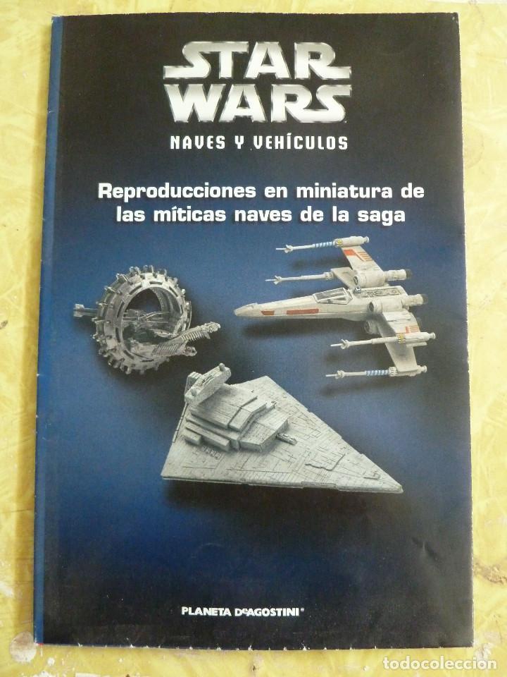 Figuras y Muñecos Star Wars: LOTE DE LA COLECCION STAR WARS NAVES Y VEHICULOS DE PLANETA DEAGOSTINI - Foto 6 - 133014878