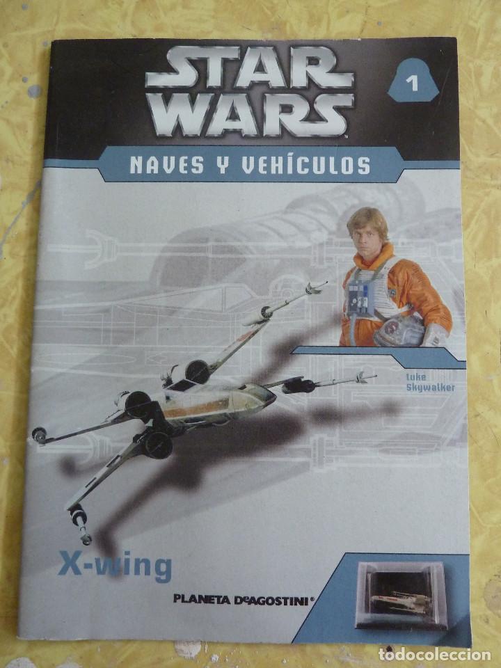 Figuras y Muñecos Star Wars: LOTE DE LA COLECCION STAR WARS NAVES Y VEHICULOS DE PLANETA DEAGOSTINI - Foto 7 - 133014878