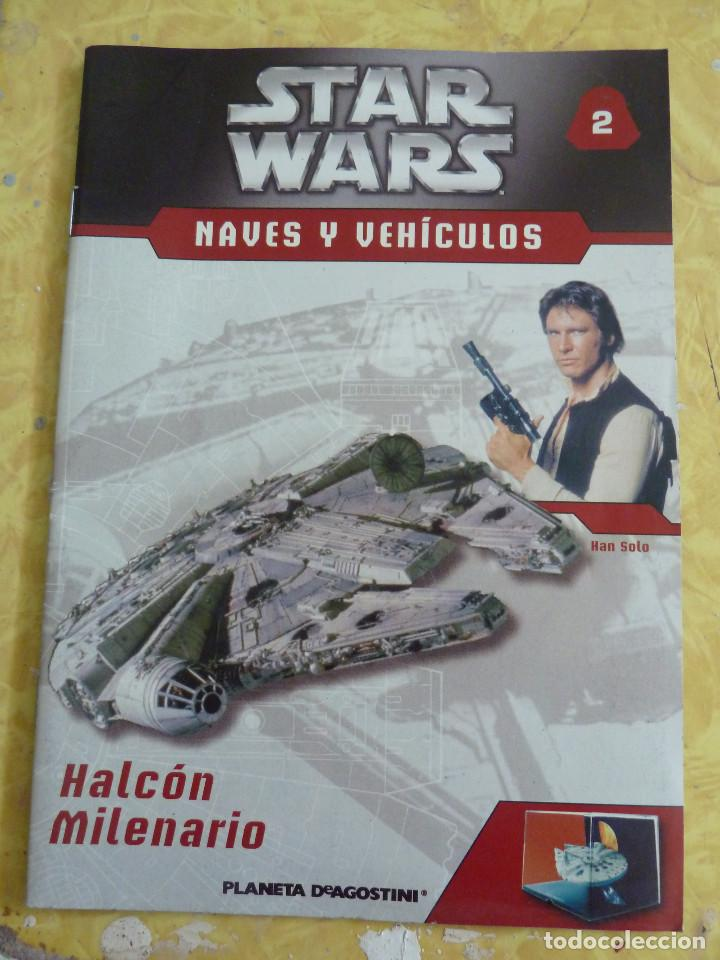 Figuras y Muñecos Star Wars: LOTE DE LA COLECCION STAR WARS NAVES Y VEHICULOS DE PLANETA DEAGOSTINI - Foto 8 - 133014878