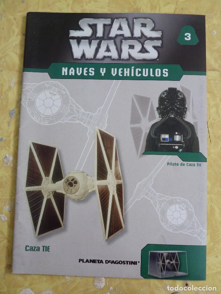 Figuras y Muñecos Star Wars: LOTE DE LA COLECCION STAR WARS NAVES Y VEHICULOS DE PLANETA DEAGOSTINI - Foto 9 - 133014878