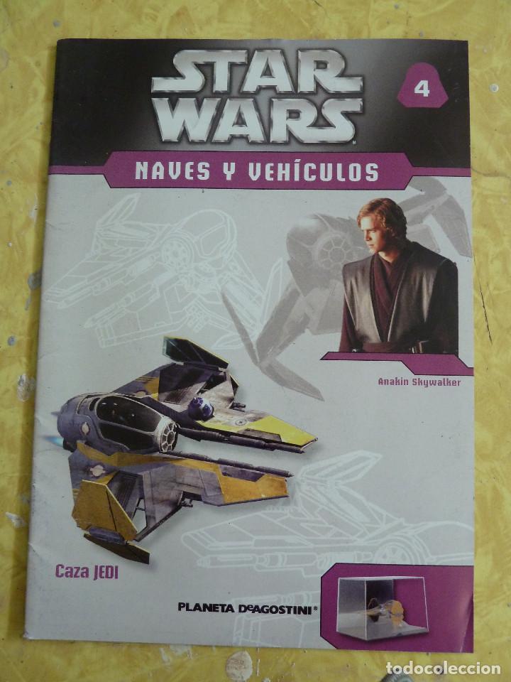 Figuras y Muñecos Star Wars: LOTE DE LA COLECCION STAR WARS NAVES Y VEHICULOS DE PLANETA DEAGOSTINI - Foto 10 - 133014878