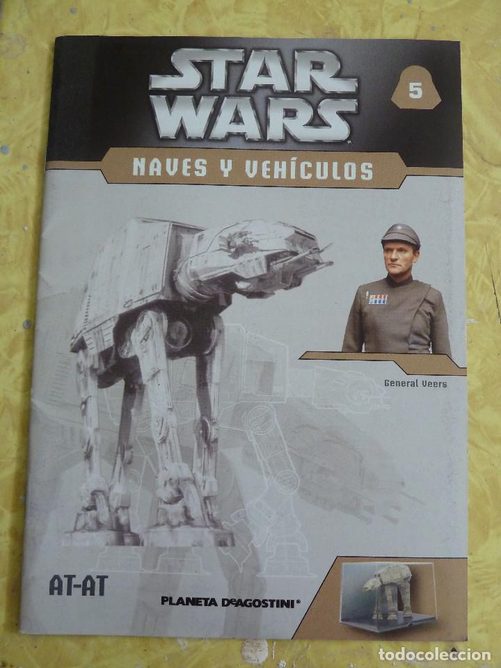 Figuras y Muñecos Star Wars: LOTE DE LA COLECCION STAR WARS NAVES Y VEHICULOS DE PLANETA DEAGOSTINI - Foto 11 - 133014878