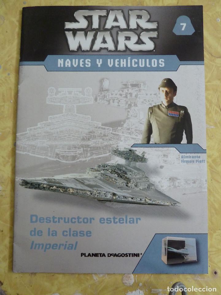 Figuras y Muñecos Star Wars: LOTE DE LA COLECCION STAR WARS NAVES Y VEHICULOS DE PLANETA DEAGOSTINI - Foto 13 - 133014878