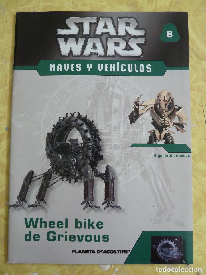 Figuras y Muñecos Star Wars: LOTE DE LA COLECCION STAR WARS NAVES Y VEHICULOS DE PLANETA DEAGOSTINI - Foto 14 - 133014878