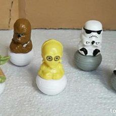 Figuras y Muñecos Star Wars: FIGURA STAR WARS: LOTE DE 5 FIGURAS ROLLINZ (UNOS 4 CM DE ALTURA). Lote 133266606
