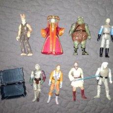 Figuras y Muñecos Star Wars: LOTE DE 8 FIGURAS STAR WARS KENNER HASBRO (Y MÁS COSAS). Lote 133413778