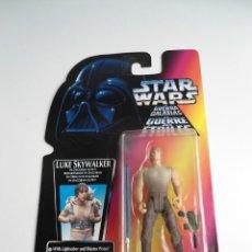 Figuras y Muñecos Star Wars: LUKE SKYWALKER IN DAGOBAH OUTFIT - STAR WARS KENNER 1996 - FIGURA NUEVA EN BLISTER. Lote 133763434