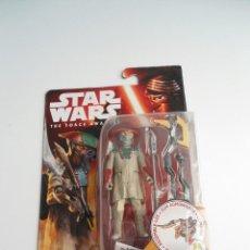 Figuras y Muñecos Star Wars: CONSTABLE ZUVIO - THE FORCE AWAKENS - STAR WARS HASBRO DISNEY 2015 - FIGURA NUEVA EN BLISTER. Lote 133764926
