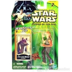 Figuras y Muñecos Star Wars: STAR WARS JAR JAR BINKS TATOOINE POMER OF THE JEDI. Lote 133817186