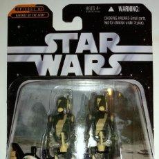 Figuras y Muñecos Star Wars: STAR WARS THE SAGA COLLECTION BATTLE DROIDS. Lote 133912326