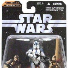 Figuras y Muñecos Star Wars: STAR WARS EPISODE III GREATST BATTLES 501ST LEGION TROOPER. Lote 133912934