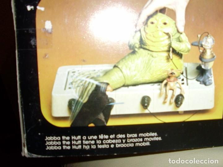 Figuras y Muñecos Star Wars: JABBA THE HUTT VINTAGE STAR WARS STARWARS CAJA COMPLETO 1983 RETORNO DEL JEDI - Foto 16 - 110070783