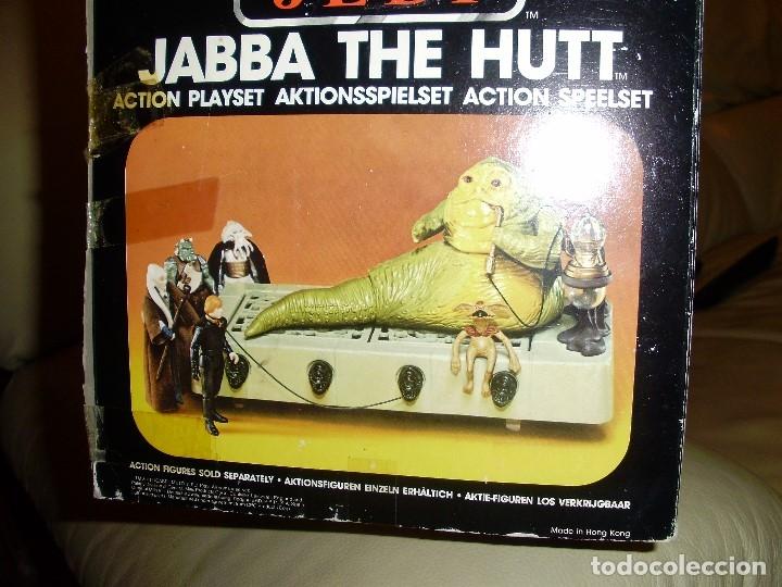 Figuras y Muñecos Star Wars: JABBA THE HUTT VINTAGE STAR WARS STARWARS CAJA COMPLETO 1983 RETORNO DEL JEDI - Foto 18 - 110070783