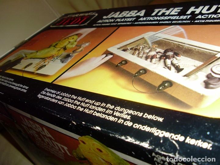 Figuras y Muñecos Star Wars: JABBA THE HUTT VINTAGE STAR WARS STARWARS CAJA COMPLETO 1983 RETORNO DEL JEDI - Foto 22 - 110070783