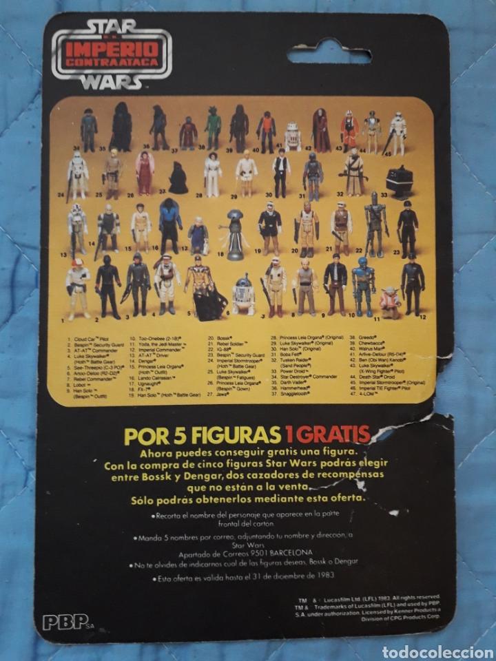 Figuras y Muñecos Star Wars: 4-LOM PBP cardback 45 back - Foto 2 - 134100739
