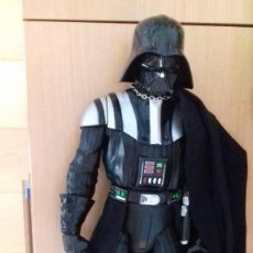 Figuras y Muñecos Star Wars: FIGURA STAR WARS DARK VADER MADE IN USA JAKKS 50 CMS. Lote 134436606