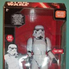 Figuras y Muñecos Star Wars: STROMTROOPER GRAN TAMAÑO 40 CTMS STAR WARS A ESTRENAR DESCATALOGADO ORIGINAL VER FOTOS Y DESCRIPCION. Lote 135034946