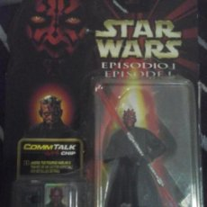 Figuras y Muñecos Star Wars: STAR WARS EPISODIO 1, COMMTALK CHIP, DARTH MAUL . Lote 135081998
