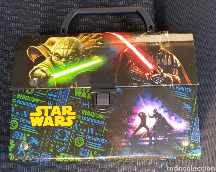 Figuras y Muñecos Star Wars: Maletín Star Wars - Foto 2 - 135111098