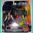 Figuras y Muñecos Star Wars: STAR WARS # HAN SOLO DELUXE # THE POWER OF THE FORCE - NUEVO EN SU BLISTER ORIGINAL DE KENNER.. Lote 135356986