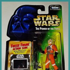 Figuras y Muñecos Star Wars: STAR WARS # BIGGS DARKLIGHTER # THE POWER OF THE FORCE - NUEVO EN SU BLISTER ORIGINAL DE KENNER.. Lote 135360726