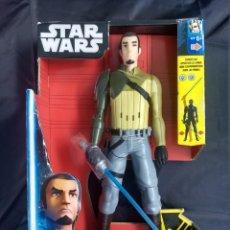 Figuras y Muñecos Star Wars: STAR WARS KANAN JARRUS Y SABLE ELECTRONICO (HASBRO). Lote 135865818