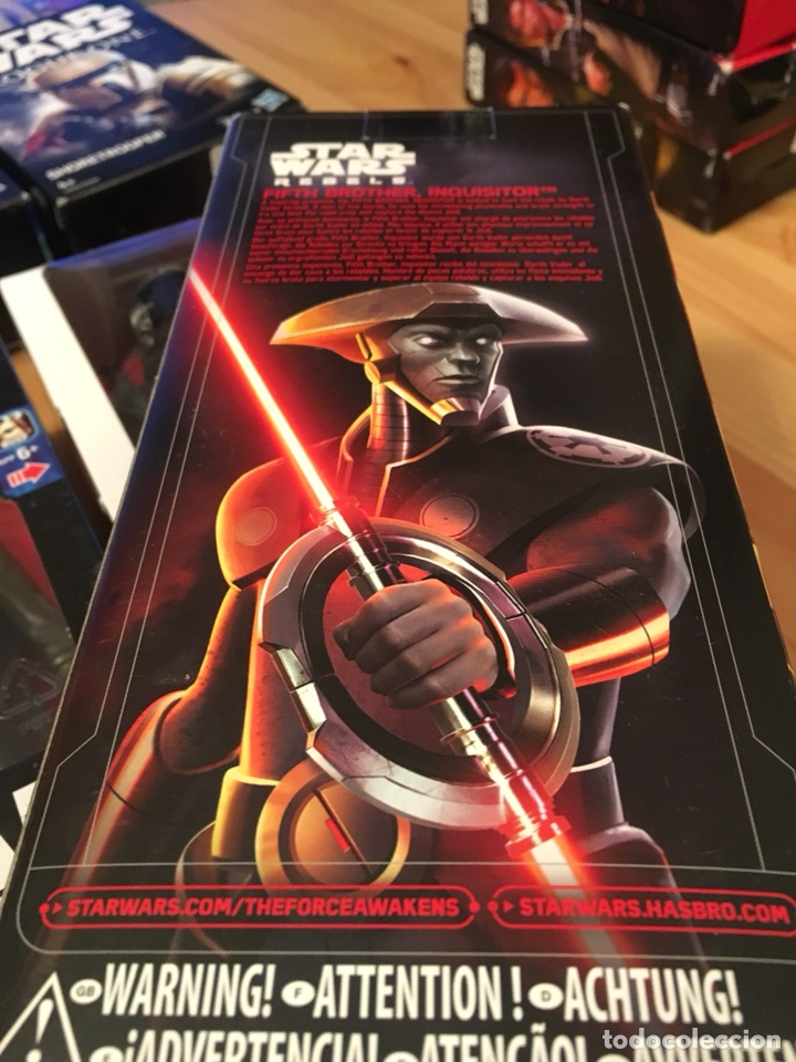 Figuras y Muñecos Star Wars: Figura acción de Star Wars, Fifth brother,inquisitor,Rebels,la Guerra de las galaxias - Foto 3 - 135953573
