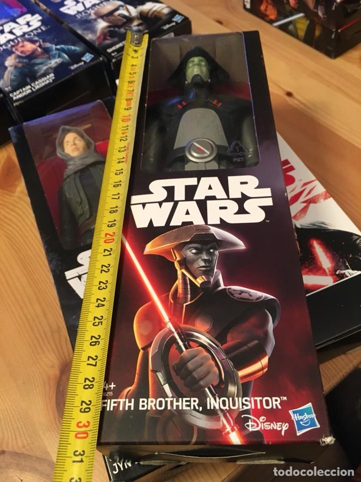 Figuras y Muñecos Star Wars: Figura acción de Star Wars, Fifth brother,inquisitor,Rebels,la Guerra de las galaxias - Foto 4 - 135953573