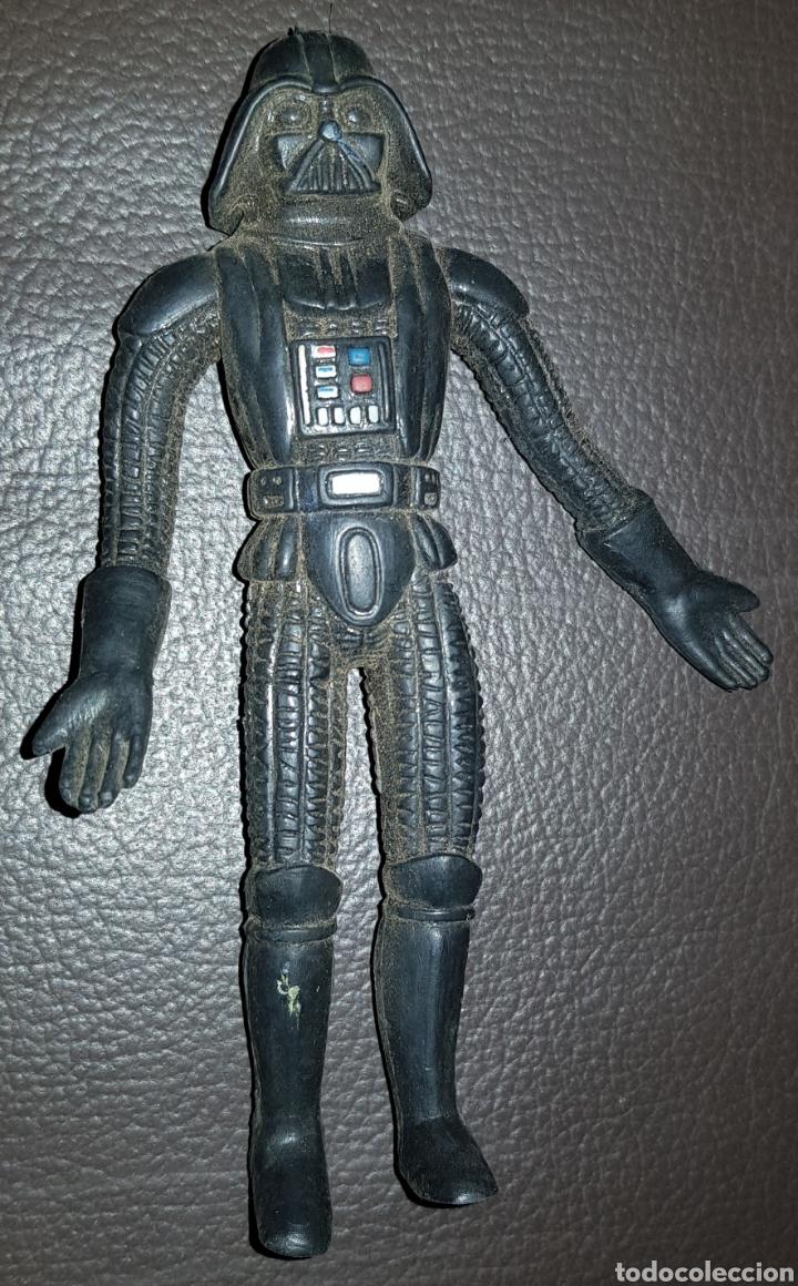 Figuras y Muñecos Star Wars: FIGURA PVC DARTH VADER BEND-EMS DIFICIL - Foto 2 - 136031434