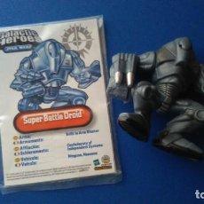 Figuras y Muñecos Star Wars: SUPER BATTLE DROID DE GALACTIC HEROES STAR WARS. HASBRO 2004. Lote 136171522