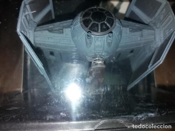 Figuras y Muñecos Star Wars: STAR WARS NAVE Y VEHICULOS CAZA DARTH VADER CON FASCÍCULO 16 PLANETA AGOSTINI FIGURA PLOMO. LEER - Foto 5 - 136222410