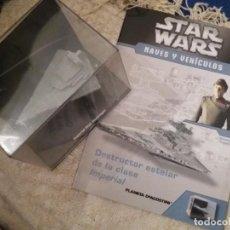 Figuras y Muñecos Star Wars: STAR WARS NAVE Y VEHICULOS DESTRUCTOR ESTELAR IMPERIAL Y FASCÍCULO 7 PLANETA AGOSTINI FIGURA PLOMO. . Lote 136226198