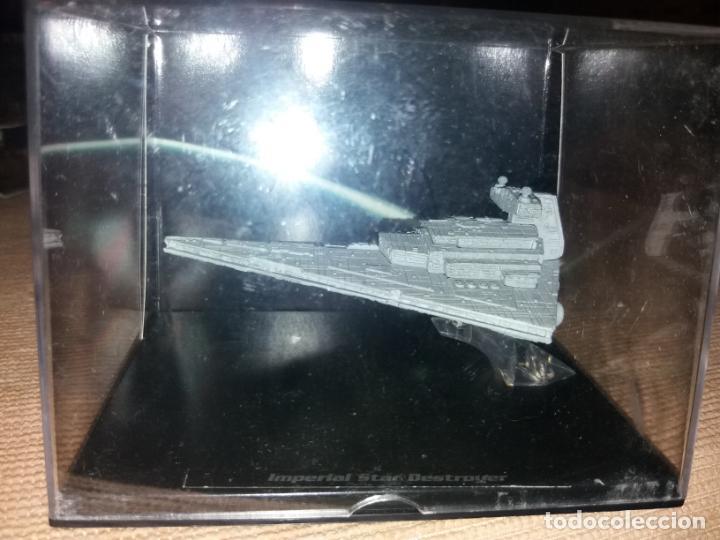 Figuras y Muñecos Star Wars: STAR WARS NAVE Y VEHICULOS DESTRUCTOR ESTELAR IMPERIAL Y FASCÍCULO 7 PLANETA AGOSTINI FIGURA PLOMO. - Foto 3 - 136226198
