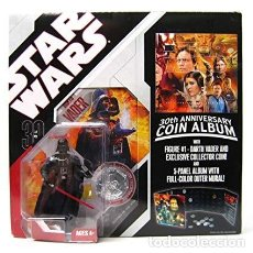 Figuras y Muñecos Star Wars: STAR WARS DARTH VADER 30 TH ANNIVERSARY COIN ALBUM. Lote 136704822