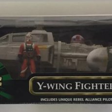 Figuras y Muñecos Star Wars: NAVE Y-WING FIGHTER - STAR WARS POWER OF THE FORCE - KENNER. Lote 137132629