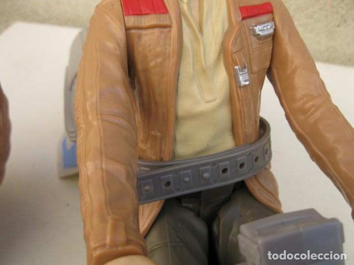 Figuras y Muñecos Star Wars: POE DAMERON CON SPEEDER BIKE - MOTO JET - STAR WARS - HASBRO - LFL. - Foto 8 - 137425902