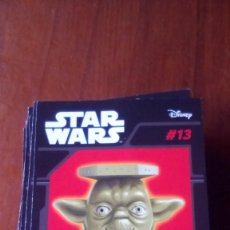 Figuras y Muñecos Star Wars: ABATONS STAR WARS 13 YODA CROMO. Lote 137839346