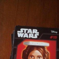 Figuras y Muñecos Star Wars: ABATONS STAR WARS 15 PRINCESS LEIA CROMO. Lote 137839454