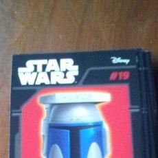 Figuras y Muñecos Star Wars: ABATONS STAR WARS 19 JANGO FETT CROMO. Lote 137839682