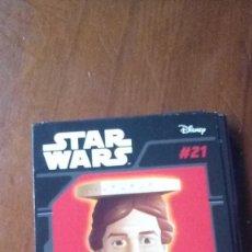 Figuras y Muñecos Star Wars: ABATONS STAR WARS 21 HAN SOLO CROMO. Lote 137839722