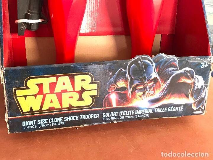 Figuras y Muñecos Star Wars: Shock Trooper de 79 cm de alto nuevo de jugueteria - star wars - Foto 2 - 137946494