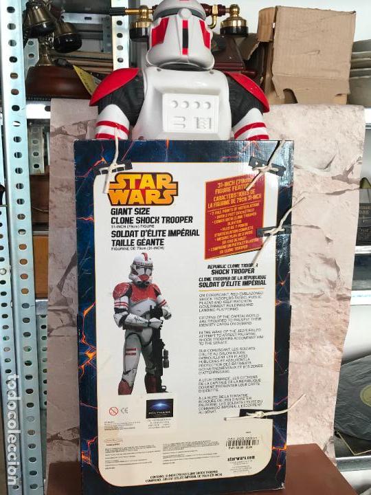 Figuras y Muñecos Star Wars: Shock Trooper de 79 cm de alto nuevo de jugueteria - star wars - Foto 4 - 137946494