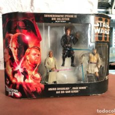 Star Wars Rots Commemorative Dvd Collection Anakin MAce Obi-Wan