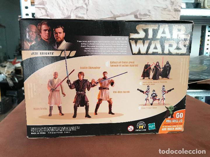 Figuras y Muñecos Star Wars: Star Wars Rots Commemorative Dvd Collection Anakin MAce Obi-Wan - Foto 2 - 137947670