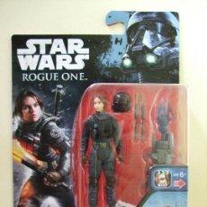 Figuras y Muñecos Star Wars: FIGURA SERGEANT JYN ERSO - STAR WARS ROGUE ONE - DISNEY HASBRO LA GUERRA DE LAS GALAXIAS. Lote 138779978