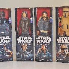 Figuras y Muñecos Star Wars: STAR WARS , 6 FIGURAS DE LA SERIE TITAN, GRANDES, ORIGINAL HASBRO, CON CAJAS, NUEVAS SIN ESTRENAR. Lote 138844666