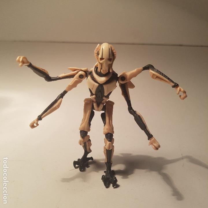 Figuras y Muñecos Star Wars: Star Wars Hasbro Obi Wan Kenobi y General Grievous, con mecanismo - ver video ! - Foto 2 - 138847870