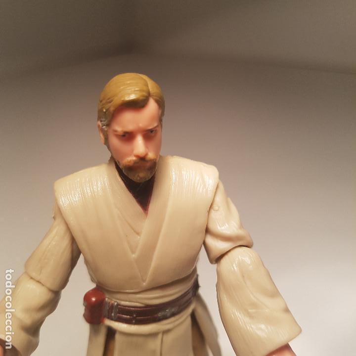 Figuras y Muñecos Star Wars: Star Wars Hasbro Obi Wan Kenobi y General Grievous, con mecanismo - ver video ! - Foto 5 - 138847870