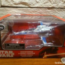 Figuras y Muñecos Star Wars: STAR WARS - CAZA - X-WING FIGHTER - DISNEY STORE - METAL - DIE CAST - THE FORCE AWAKENS - NUEVO. Lote 139208098
